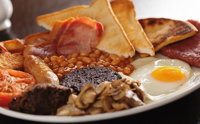 Desayuno escocés