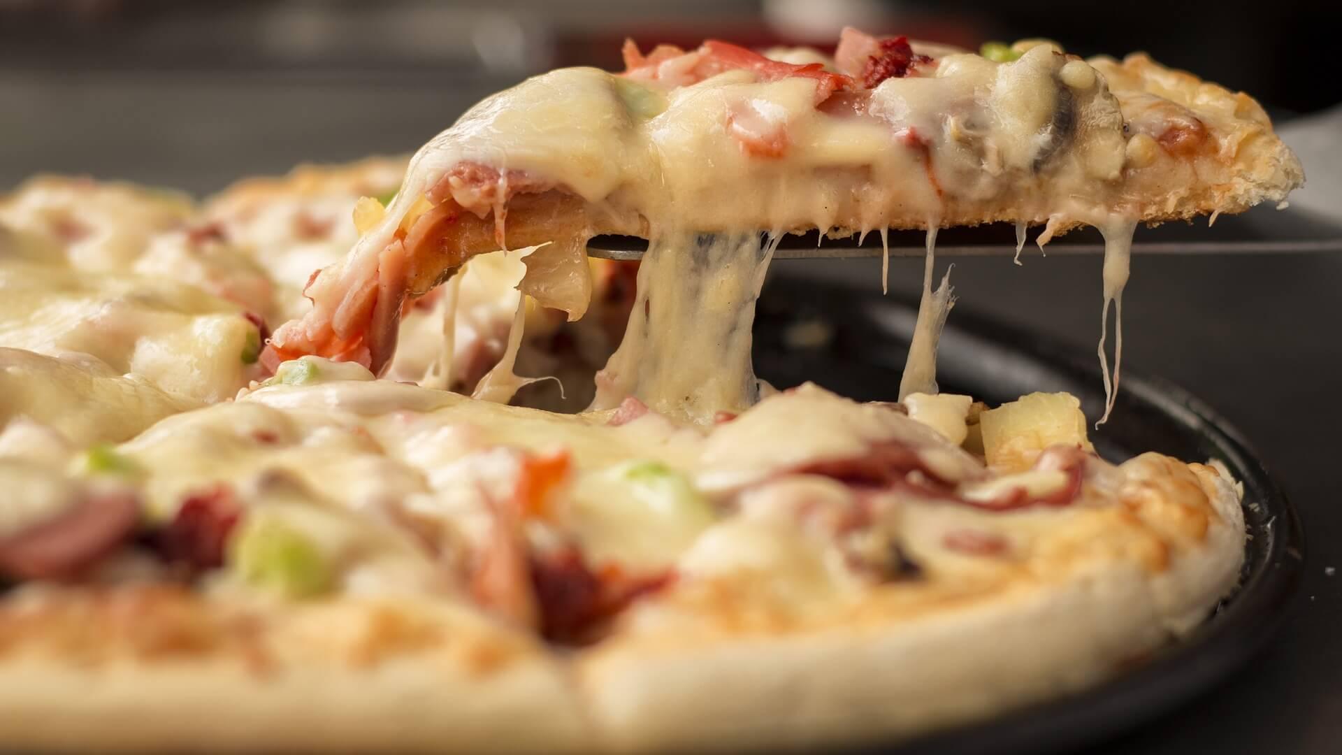 Pizza a la caballo
