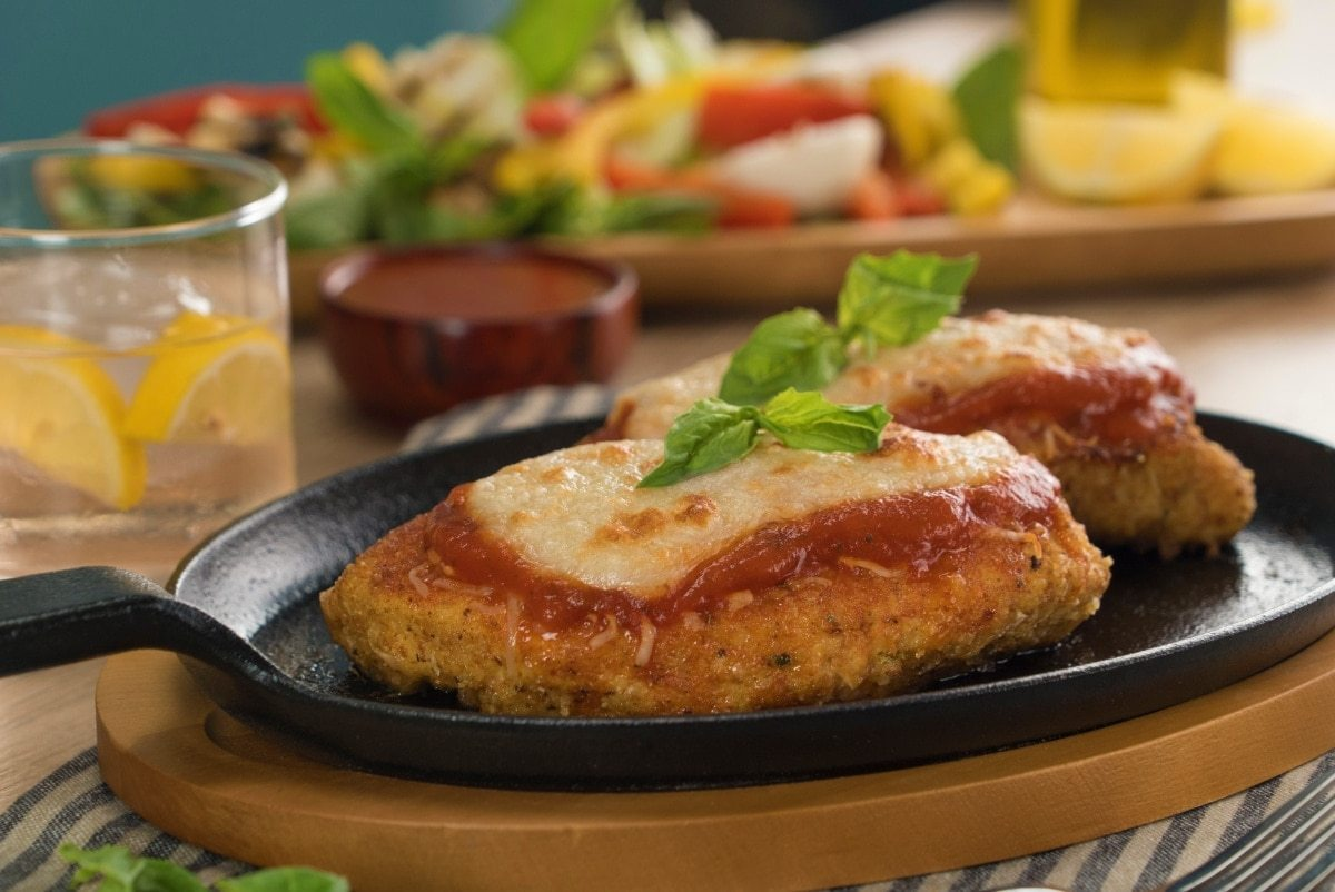 Pollo a la parmesana